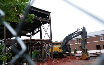 Demolition to make room for more mixed use